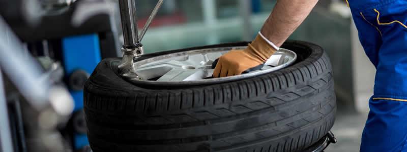Changement de pneus sur Valenciennes